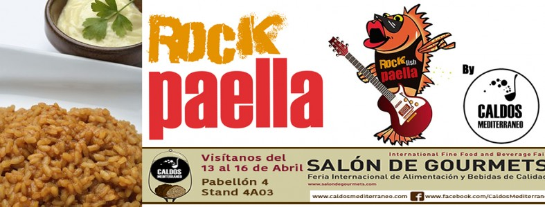 Rock Paella en el Salón del Gourmet
