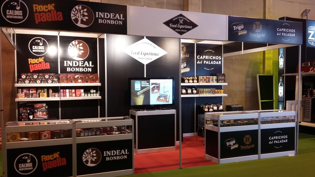 Stand Mediterranean Food Experience from Spain