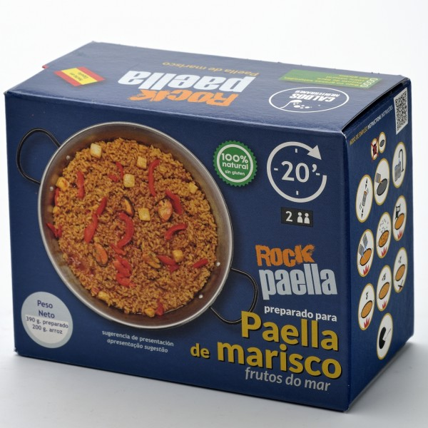 ROCK PAELLA DE MARISCO