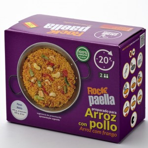 ARROZ CON POLLO Rock Paella