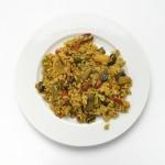 Arroz con verdura Rock Paella